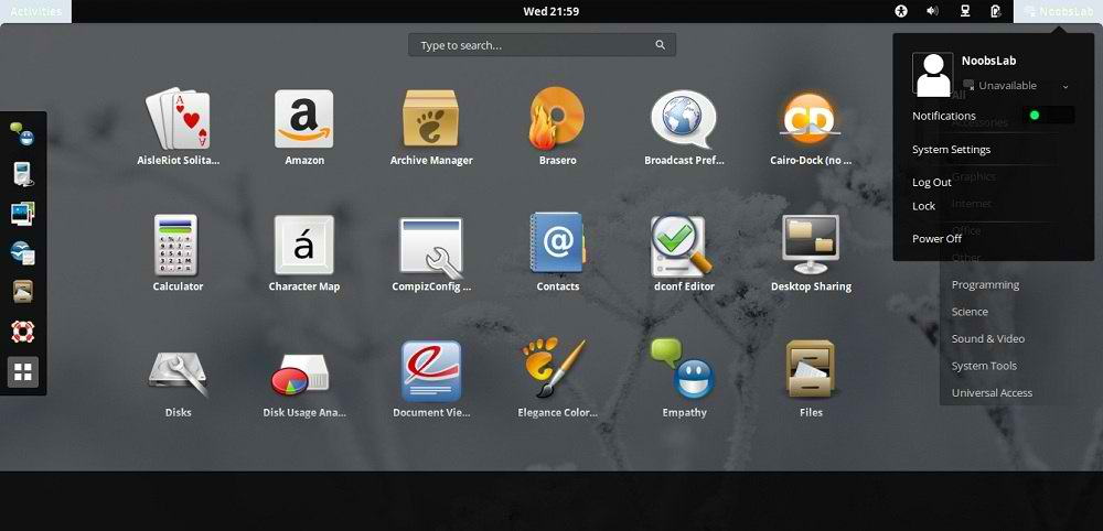 gnome shell themes