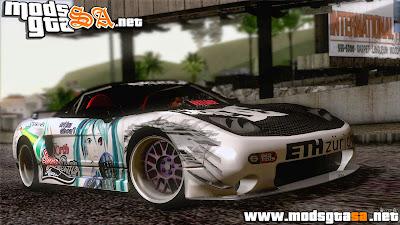 SA - Acura NSX Miku Ghoul Itasha
