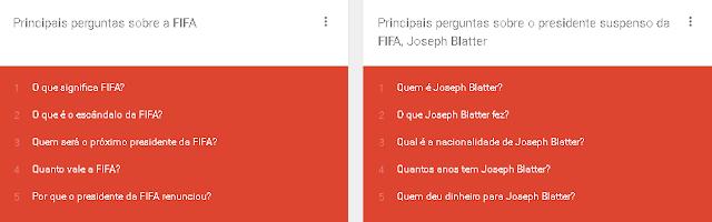 A FIFA foi destaque das pesquisas de Maio de 2015