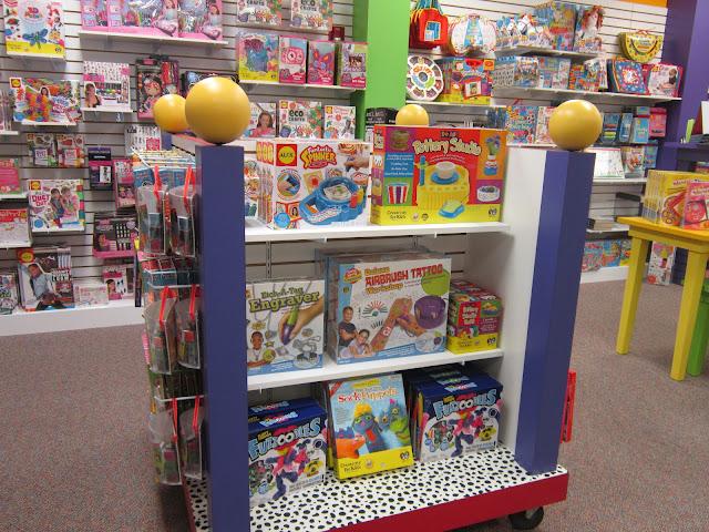 Design Megillah Toy Store Decor