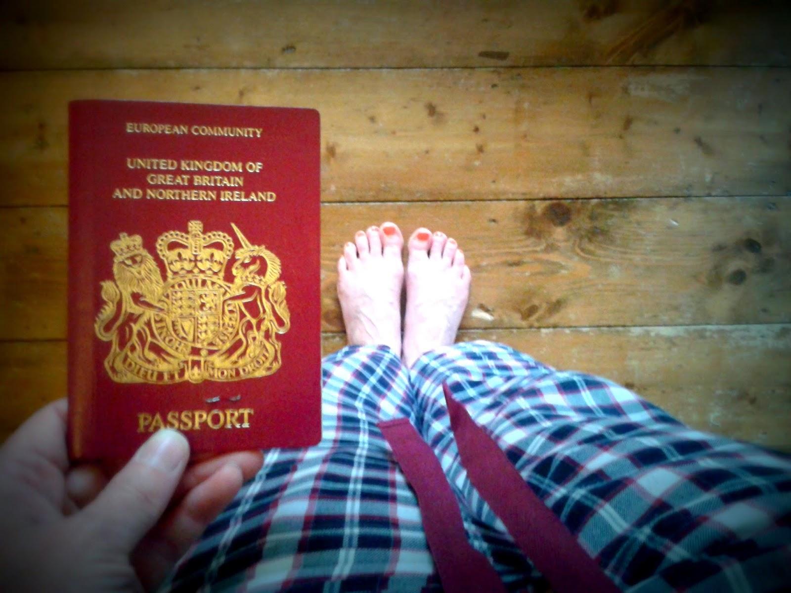 Project 365 Day 142 - Passport // 76sunflowers
