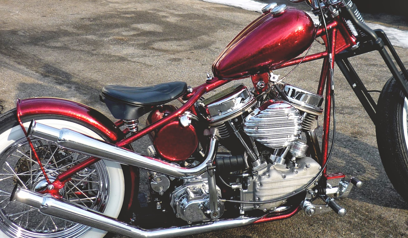 Moto-Mucci: FOR SALE: Custom Harley Panhead Bobber