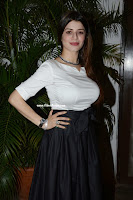 Kainaat Arora in white tight shirt at Alberto