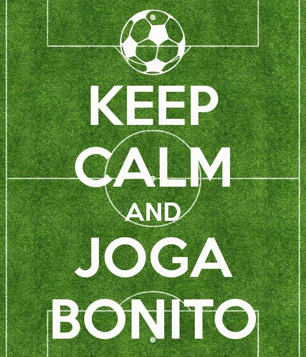 keep calm and joga bonito