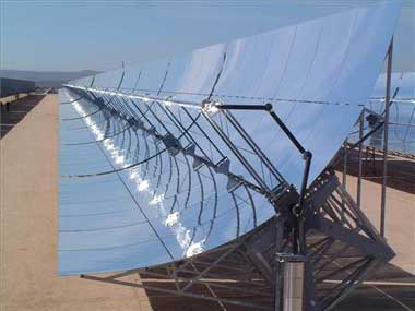 Resultado de imagen de colector solar térmico de baja temperatura