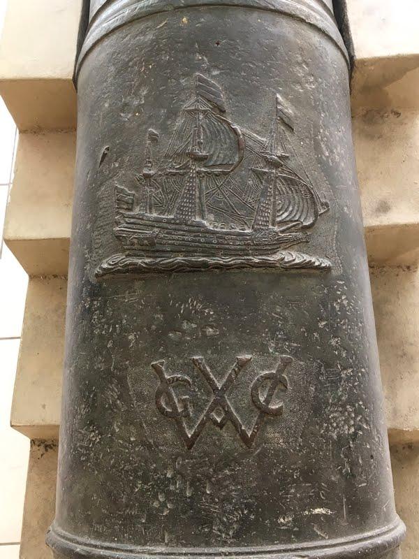 detalhe de canhão da WIC