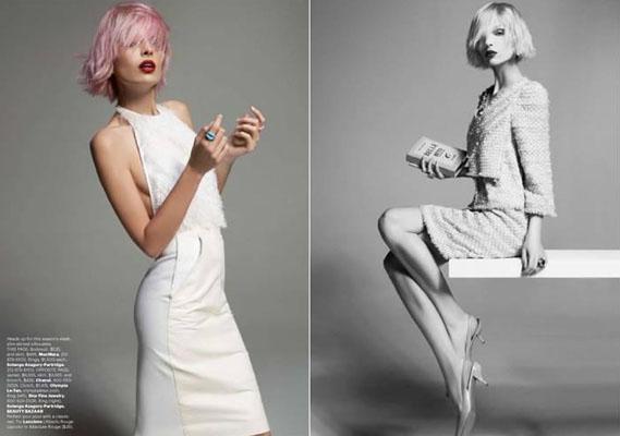 Carola Remer by Glen Luchford for Harper's Bazaar