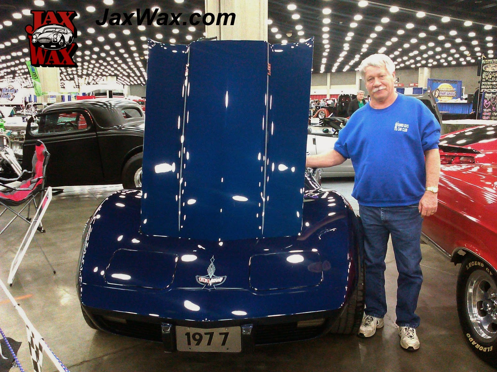 1977 Chevy Corvette Carl Casper Auto Show Jax Wax Customer