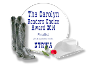 The Carolyn Readers Choice Award 2014 - Finalist