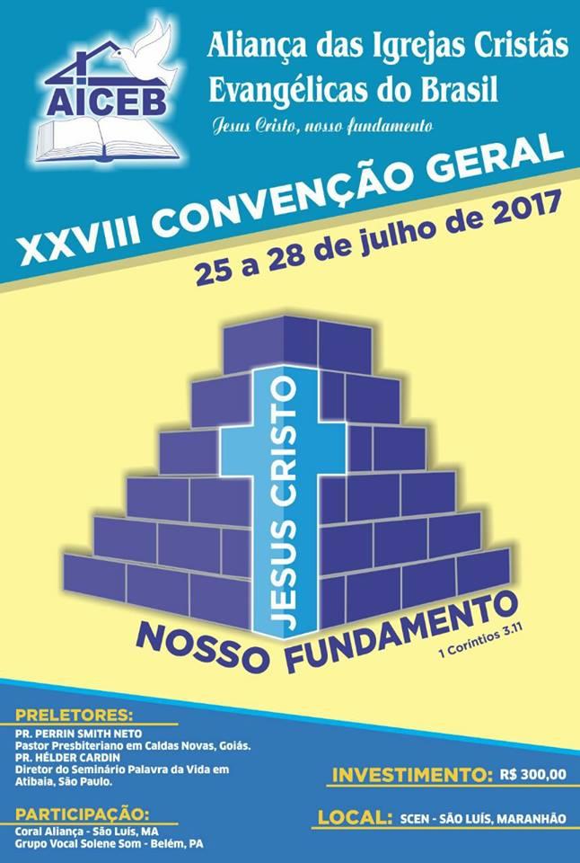 XXVIII CONVENÇÃO GERAL DA AICEB