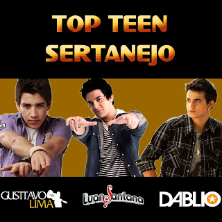 Cover Album VA   Top Teen Sertanejo 2012