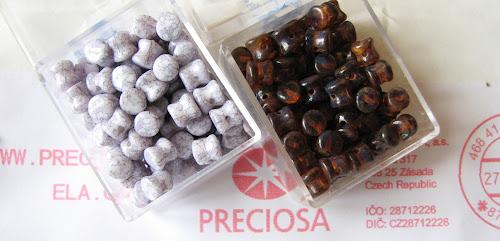 PRECIOSA Pallet Pressed Beads