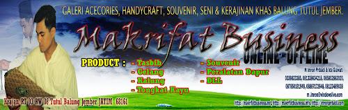 JEMBER Handicraft -  Sentral Kerajinan Kreatif Khas Desa TUTUL Balung Jember Jawa Timur