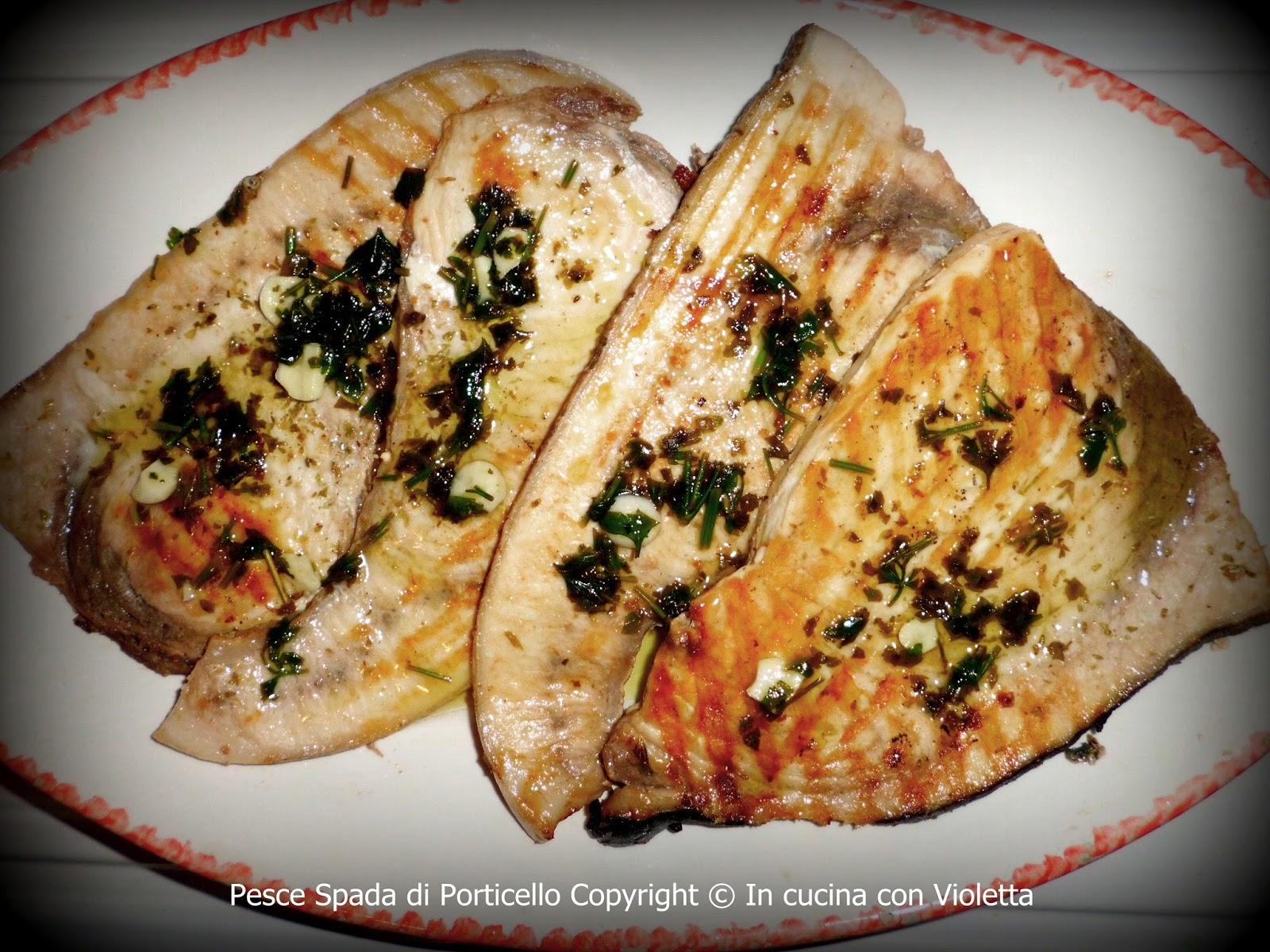Pesce Spada di Porticello Copyright © In cucina con Violetta