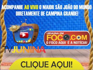 São João de Campina Grande Ao Vivo. ( Neste momento reprise do show do padre fabio de melo)