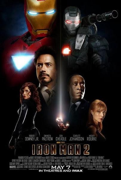 Poster of Iron Man 2 (2010) 720p In Hindi BRRip Dual Audio Download