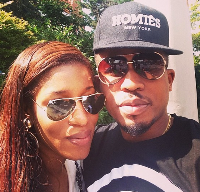 Naeto C and wife Nicole