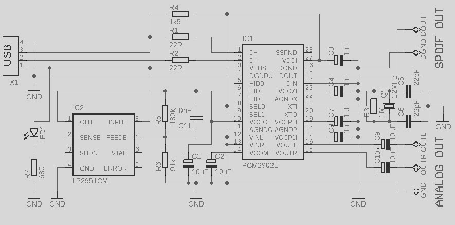 USB+Audio+Interface+based+DAC+PCM2902 m audio schematic diagram the wiring diagram readingrat net GMC Factory Stereo Wiring Diagrams at crackthecode.co