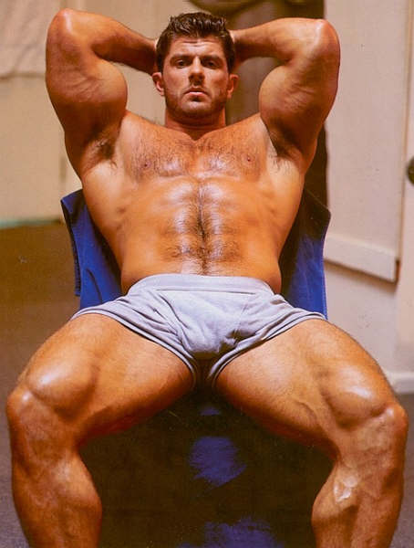 Bodybuilding Junction: Incredible Hairy Chest Men ...