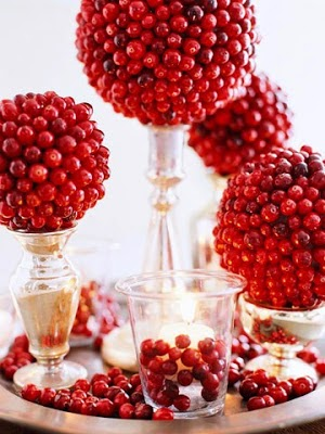 Entertain In Style For The Holidays. Adorn Your Dinner Table With These Festive D.I.Y Centerpieces.