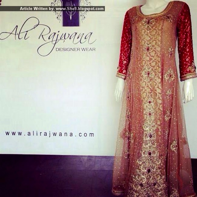 Ali Rajwana Fancy Formal Dress