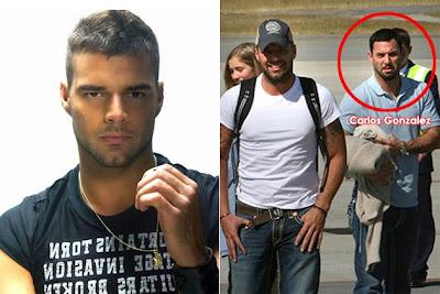 Gambar Ricky Martin Gay Bersama Kekasihnya Carlos Gonzalez Abella