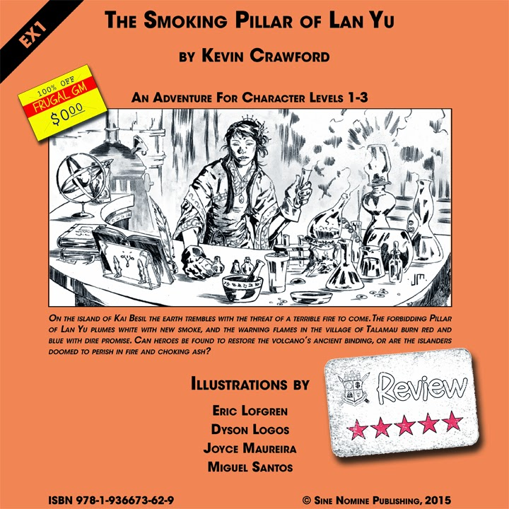 Frugal GM Review: The Smoking Pillar of Lan Yu