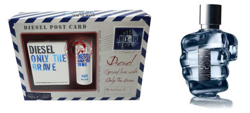 Coffret eau de toilette Diesel Only the Brave + gel douche à 24.95 euros Mademoiselle Bons Plans