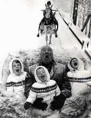 Hitchcock y sus hijos navidad