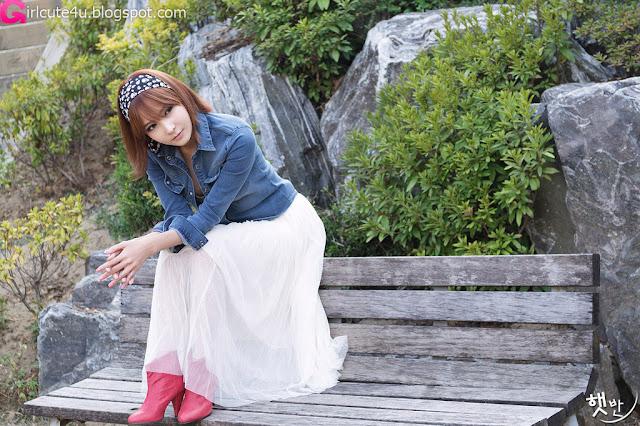 1 Jang Jung Eun - Outdoor-very cute asian girl-girlcute4u.blogspot.com