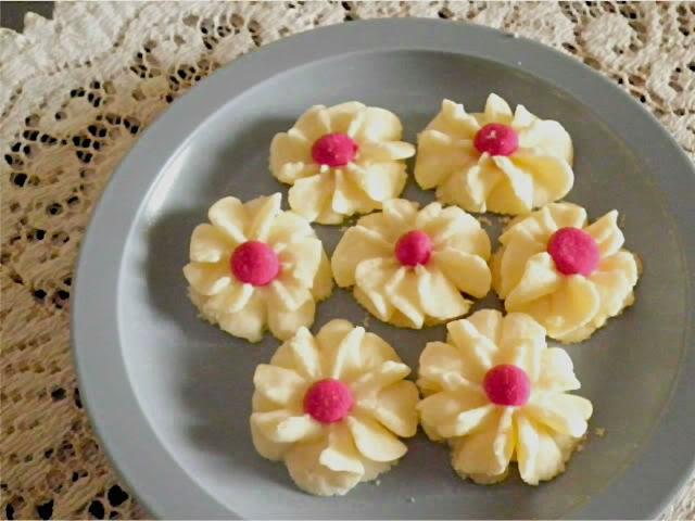 daisy cookies /biskut dahlia