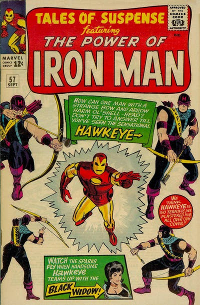 Tales of Suspense #57, Iron Man vs Hawkeye