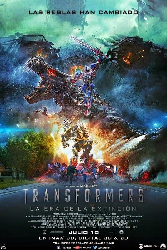 Transformers: La era de la extinción(2014)[BR-SCREENER 720p][HQ Castellano]