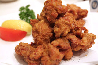 Do you know what is TORI KARAAGE ? It's something likes chicken nugget ...