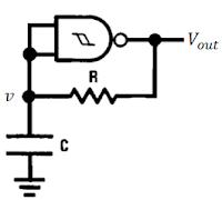 Oscilador RC com 4093
