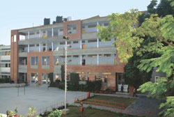 New Public School Chandigarh School Building