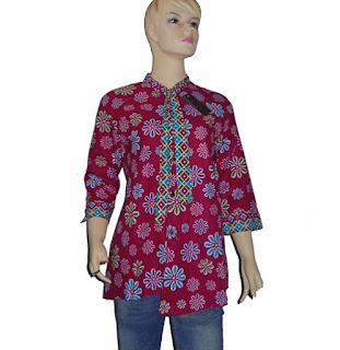 jual baju batik wanita modern