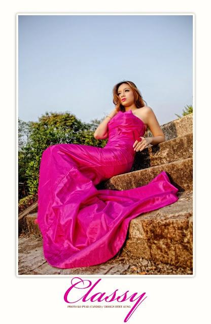 Su Myat Noe Kyaw - Myanmar Model Girls