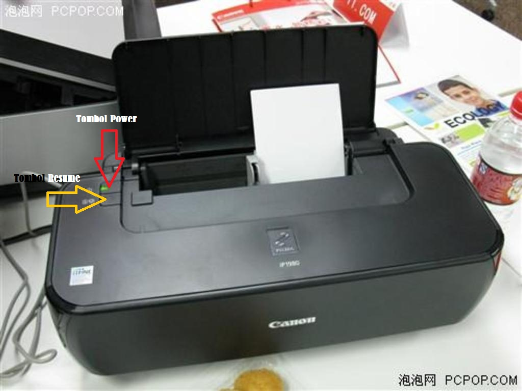 Reset Printer IP1880, IP1980, IP2770 Tanpa Software