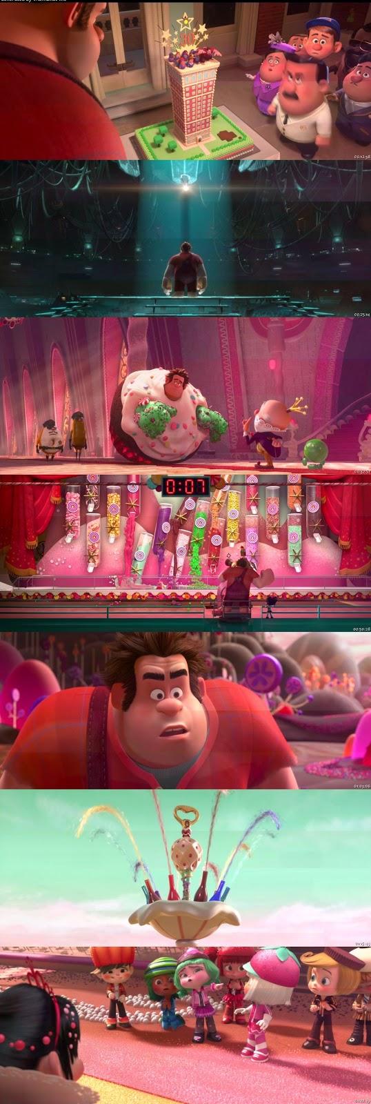 ¡Rompe Ralph! 720p HD Español Latino Dual