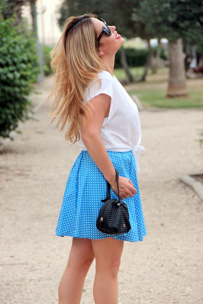 בלוג אופנה Vered'Style - עצמאות כחול לבן