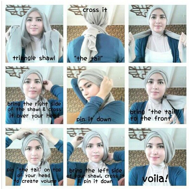 Download image Tutorial Hijab Turban PC, Android, iPhone and iPad ...
