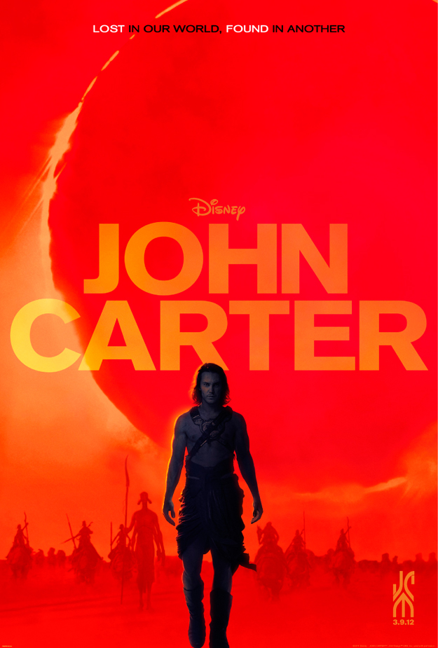 John Carter Book Cover Art : Fashion and action new john carter poster early s