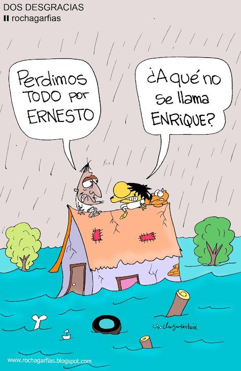 Ernesto y Enrique: dos desgracias.