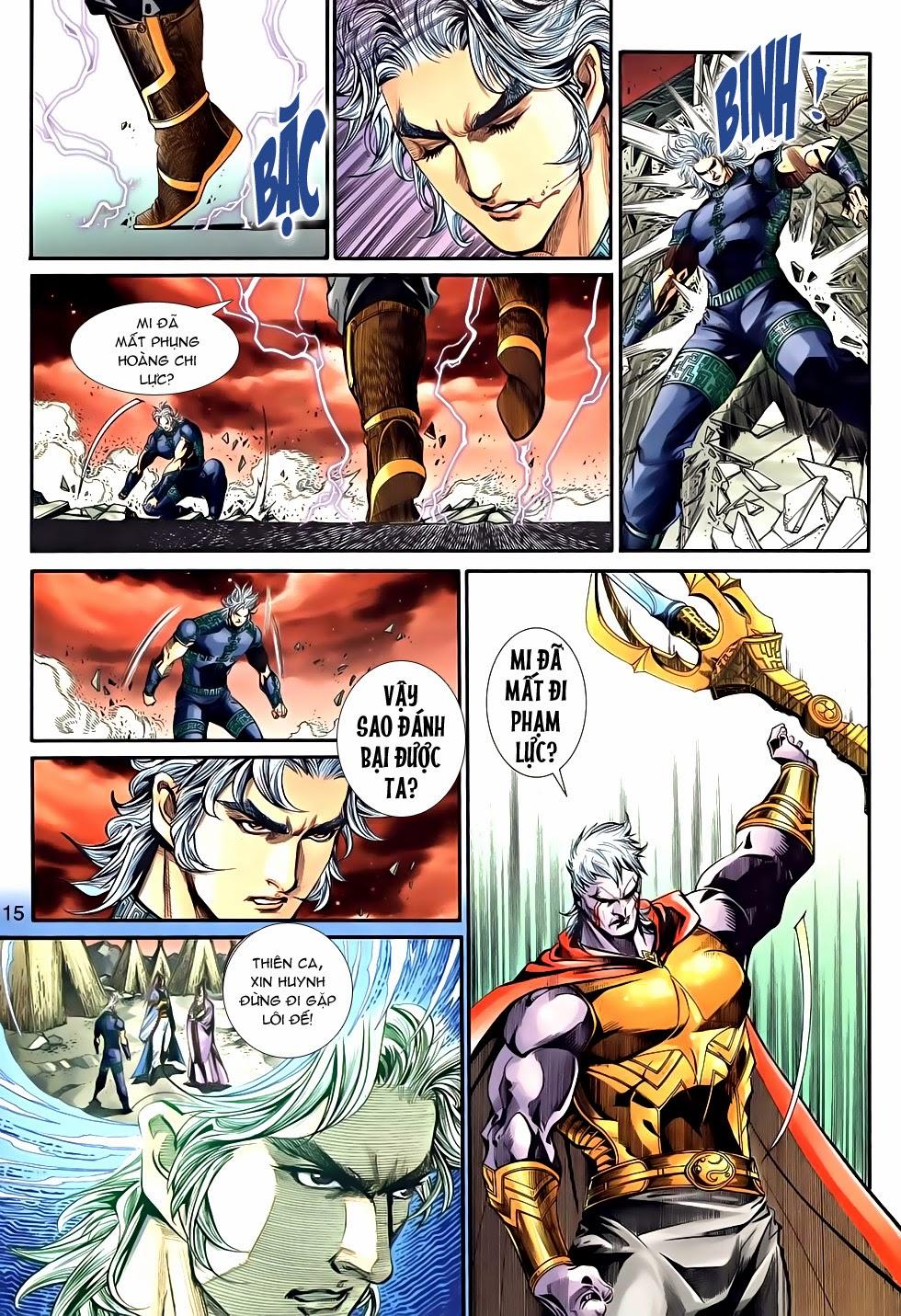 Thần Binh Tiền Truyện 2 chap 21 Trang 15 - Mangak.info