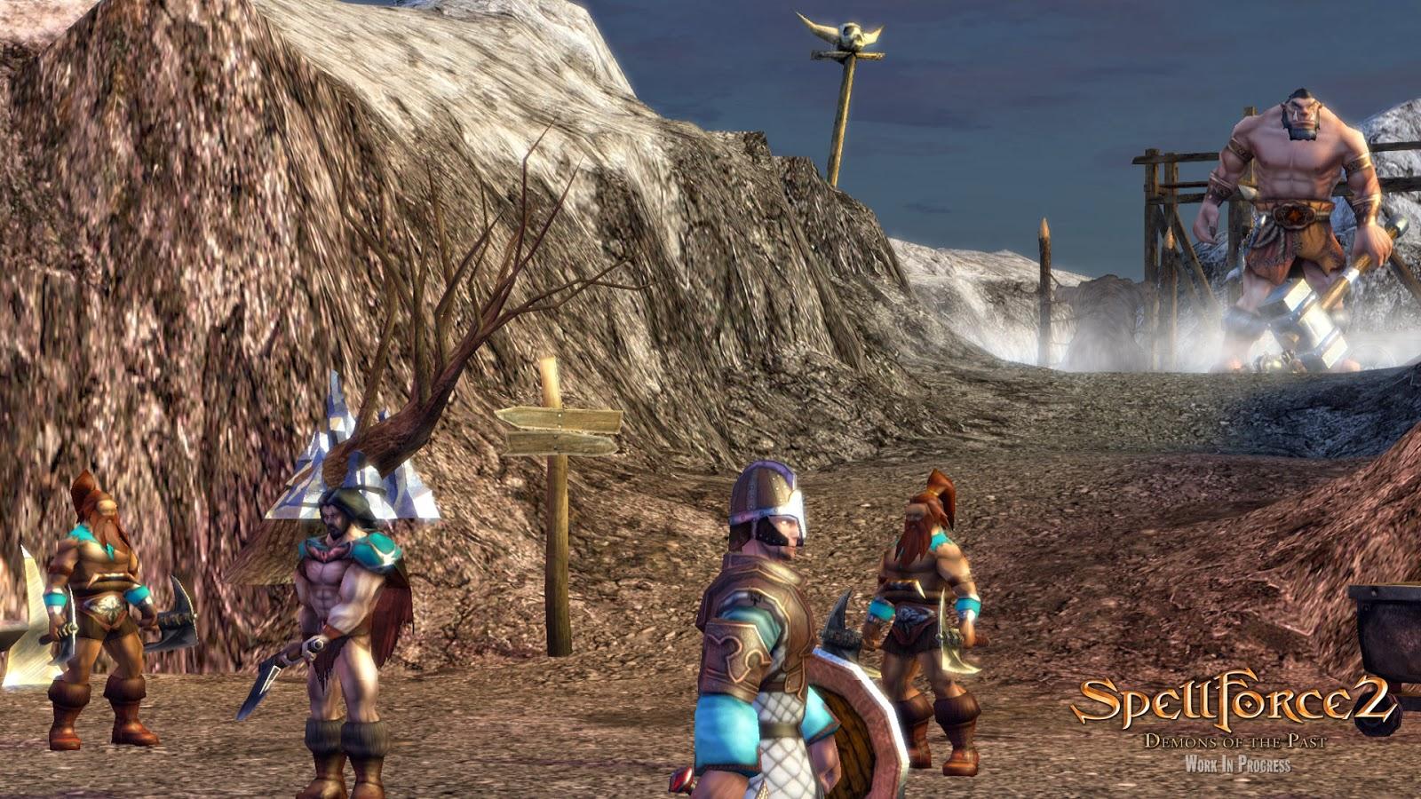 SpellForce 2 Demons Of The Past Full Torrent İndir