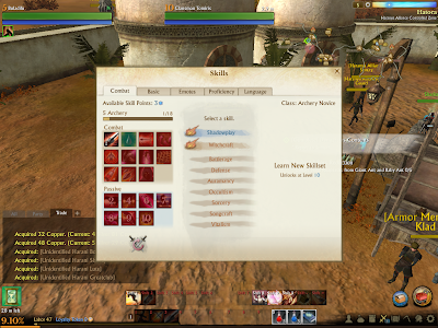 ArcheAge - Skill Classes