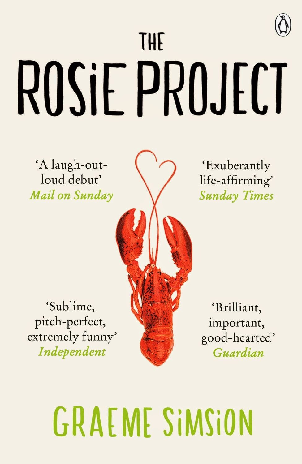 Book cover of The Rosie Project by Graeme Simsion