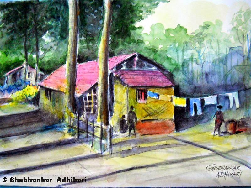 Shubhankar Adhikari's painting