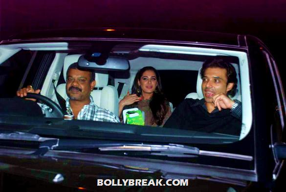 , Nargis Fakhri & Uday Chopra Watch 'the Dark Knight Rises' Together